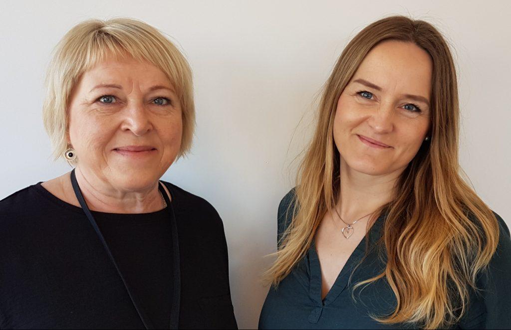 Profilbilde av Else Jensen og Anita Strømsvåg