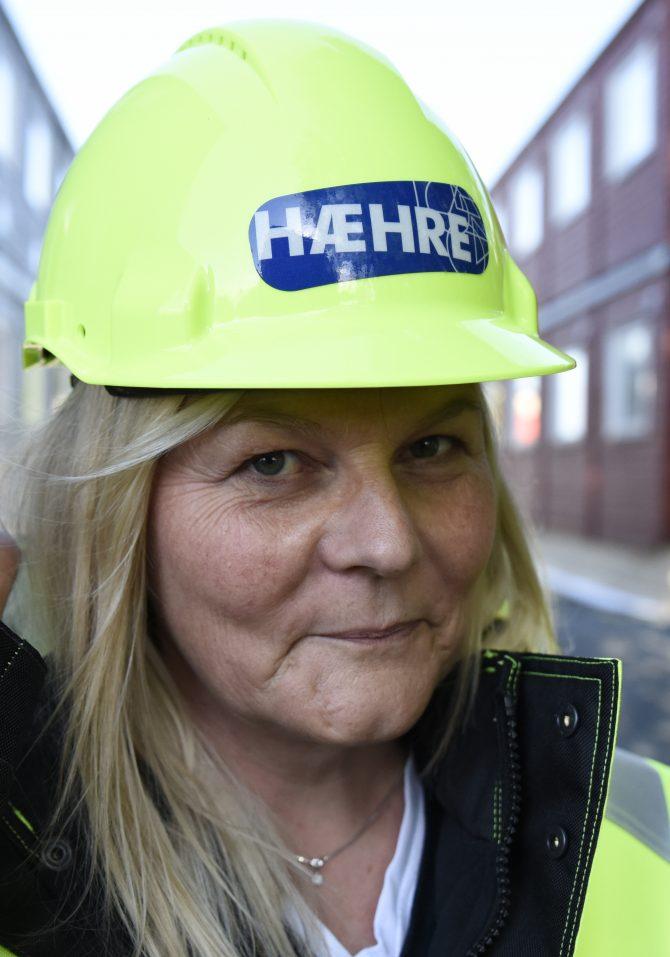 Nina Jakobsen, HR-leder i Hæhre Entreprenør. (Foto: Rita Horgen)
