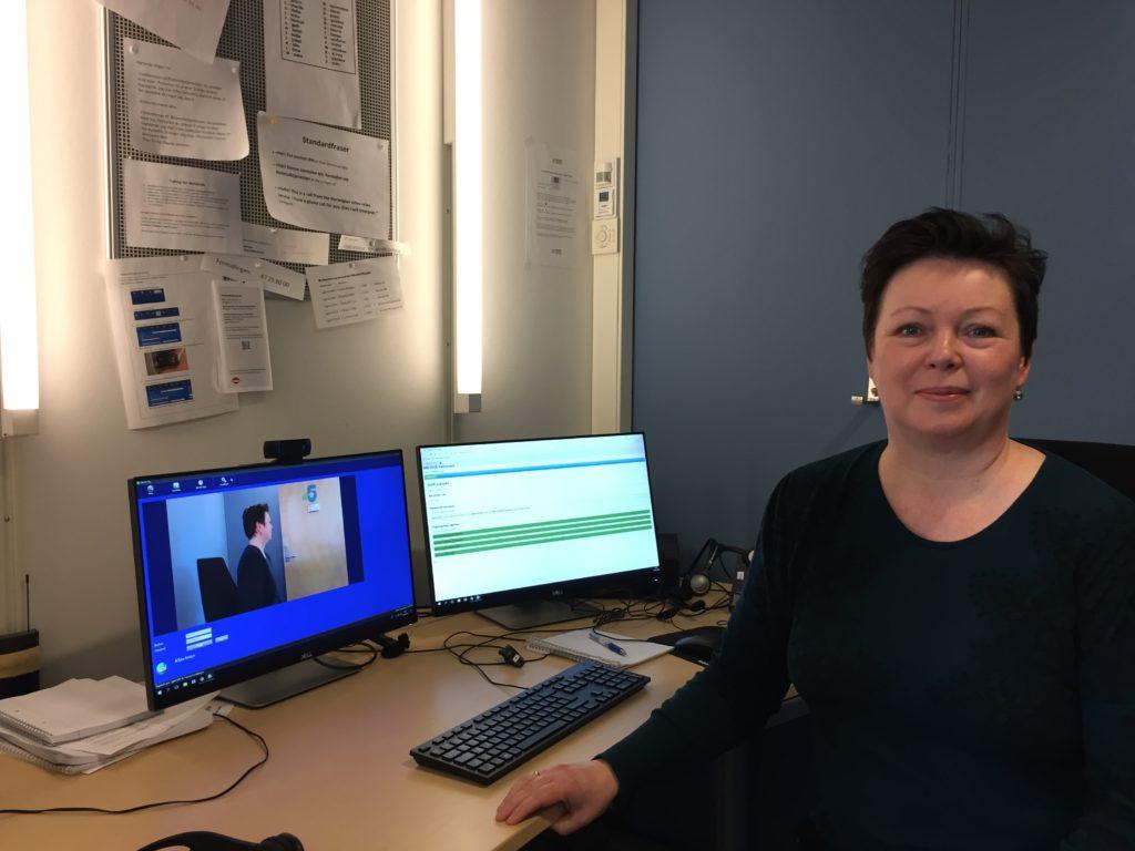 STYRKET TILBUDET: Annette Wilhemsen Hansen, nasjonal koordinator for Bildetolktjenesten.