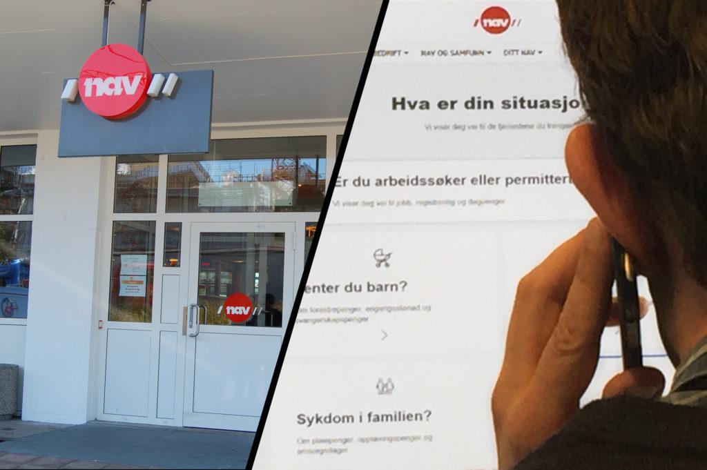 Fra 3. april 2017 skulle mange som tidligere hadde henvendt seg til NAV-kontorene, bli henvist videre til nav.no og NAVs svartjeneste på telefon.