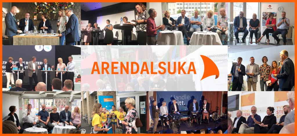 ARENDALSUKA: I fjor var NAV godt synlig under Arendalsuka, vi arrangerte debatter og deltok i andres. Tempoet blir ikke lavere i år.  Foto: NAV