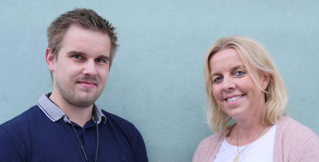 Bilde av Hans Kristian Lilleberg og Heidi Fossen