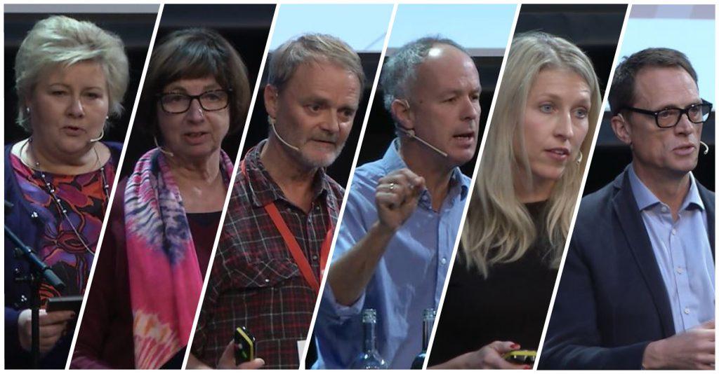 Her er noen av foredragsholdere fra NAV-konferansen 2018.