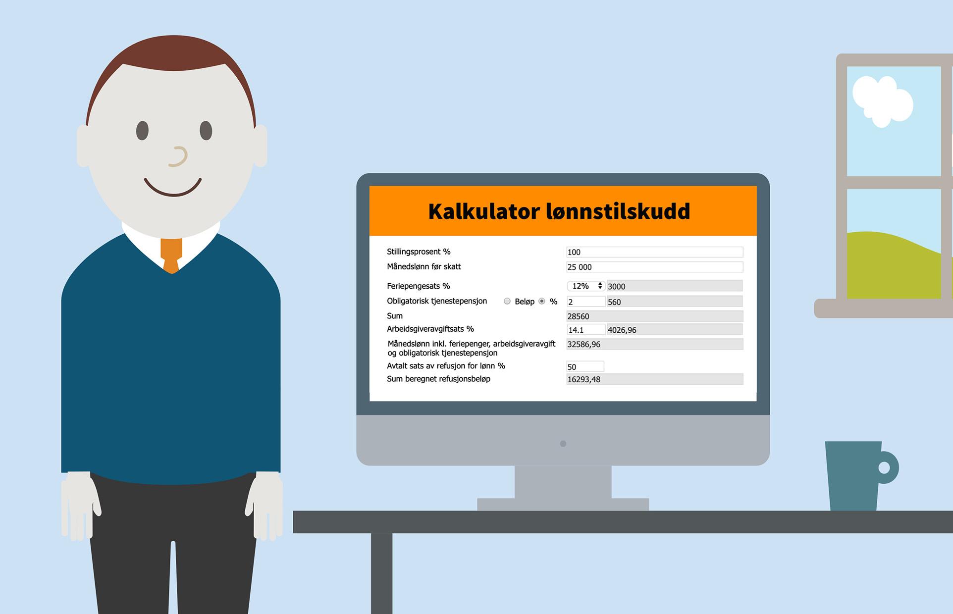 POPULÆRT: Digitale søknader om arbeidsmarkedstiltak er mye brukt etter lanseringen i januar.