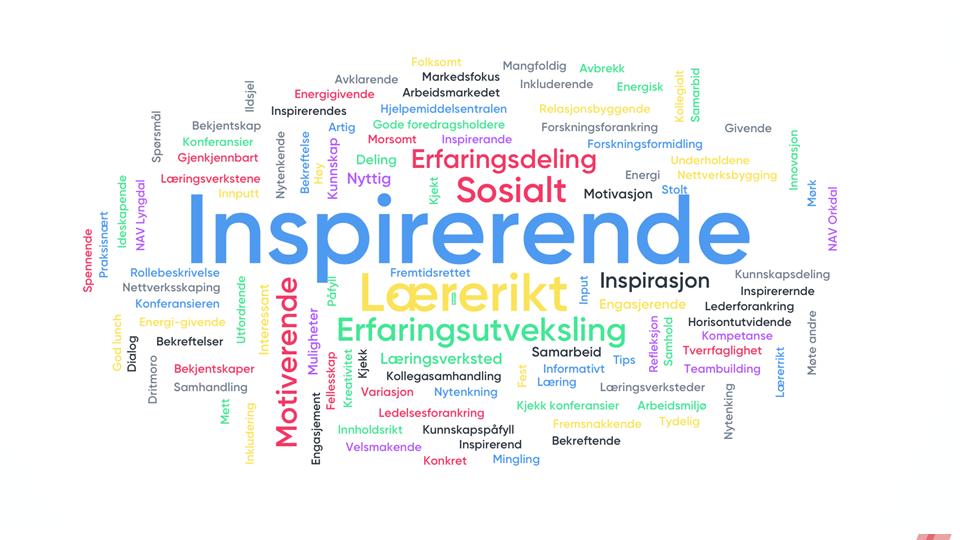 INSPIRERENDE: NAV-veiledere blir inspirert  av kollegers erfaringer og ideer