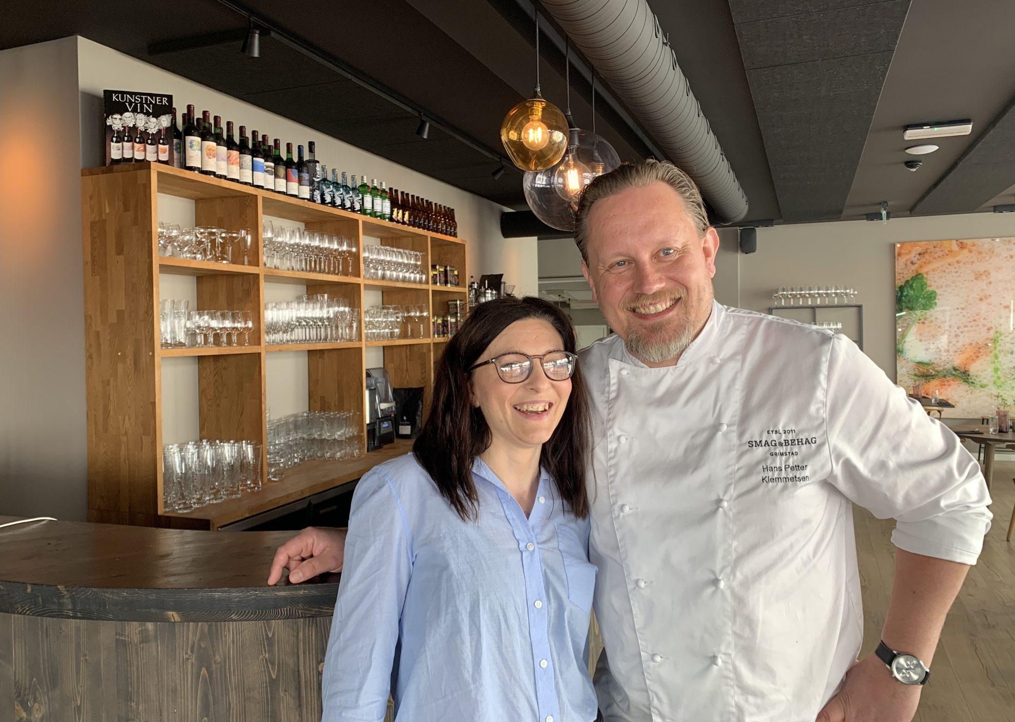 Agne Evensen har gjort en så god jobb på Smag & Behag at daglig leder Hans Petter Klemmetsen har gitt henne ansvaret som restaurantsjef på den populære og anerkjente restauranten i Grimstad.