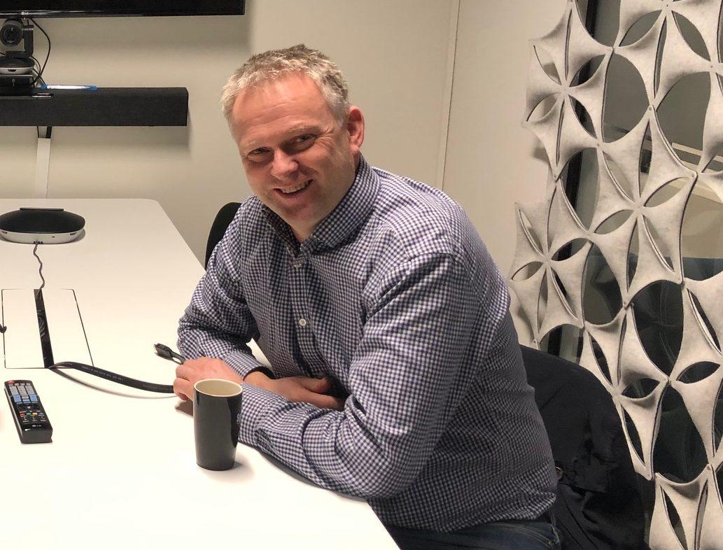 Yngve Årdal, jobbspesialist i NAV, jobber ved sykehuset i Førde