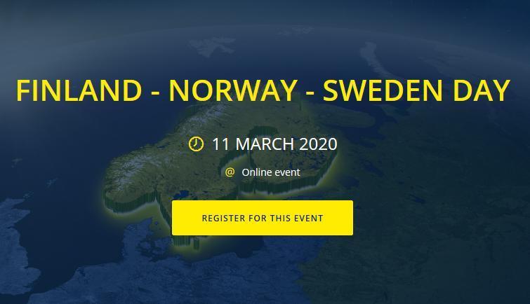 JOBB PÅ NETT: 11. mars 2020 er det duket for en digital jobbmesse i Norge, Sverige og Finland.