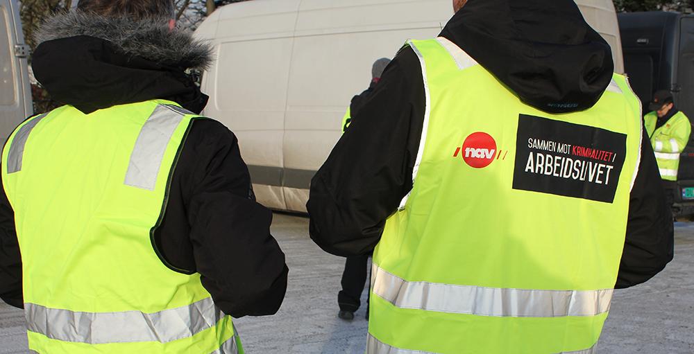 KONTROLL: A-krimsenteret i Oslo gjør kontroller flere ganger i uka. Foto: A-krimsenteret Oslo