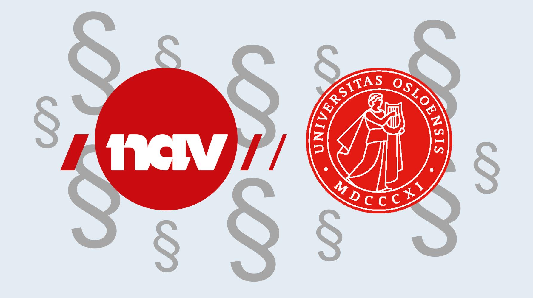 SAMABEID OM TRYGDERETT: Arbeids- og velferdsdirektoratet og Det juridiske fakultet  ved Universitetet i Oslo har inngått en samarbeidsavtale som skal bidra til mer forskning og økt kompetanse innenfor området trygderett. (Illustrasjon: NAV)