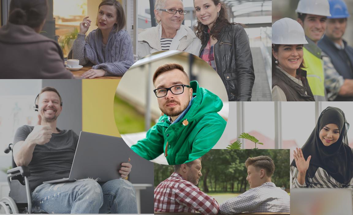 MEDARBEIDERDREVET INNOVASJON: Nye møteplasser og andre ideer som kan føre til bedre brukeropplevelser står høyt på agendaen i NAV (Illustrasjonsfotografier: Colourbox)
